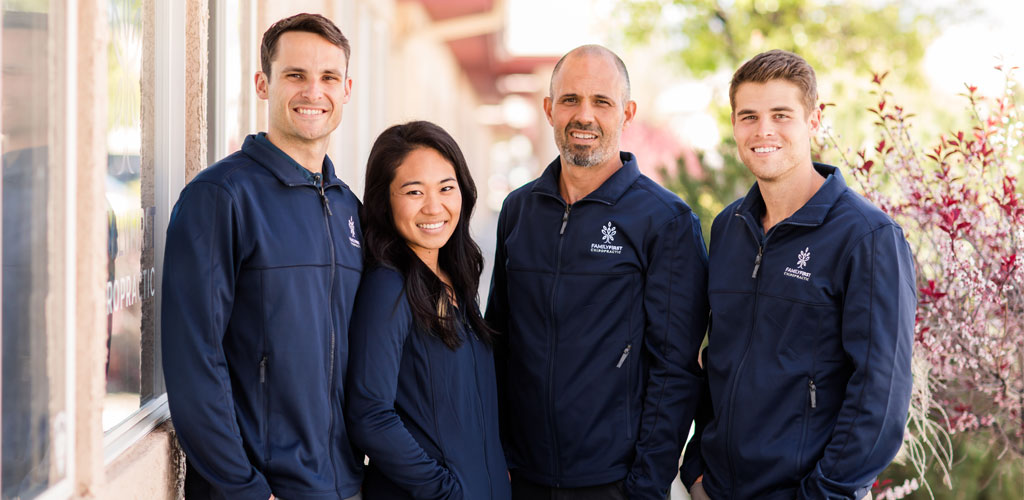 Chiropractor Sparks NV Rick Swecker and Team Members